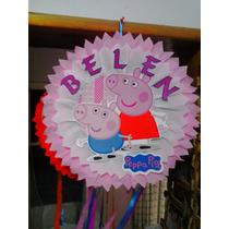 Piñata,cumpleaños, Cotillon, Peppa Pig,