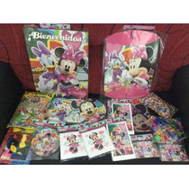 Combo Cotillon Minnie Mouse Completo!!!