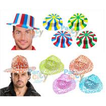 Sombreros Económicos Surtidos Cotillón Fiesta Carioca Cumple