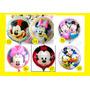 10 Globos Mickey Minnie Baby Shower Bautismo Primer Año Bebe