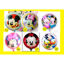 10 Globos Mickey Minnie Baby Shower Bautismo Pluto Donald