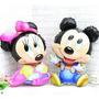 Globo Michey Minnie Forma Grande Bebe Souvenir Deco