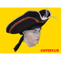 Sombrero Gorro Pirata Bucanero