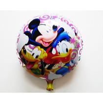Globo Con Mickey, Pato Donald Y Pluto 18 Pulgadas