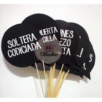 Props Accesorios Cartelitos Foto Frases Emojis Fiesta Cumple