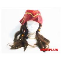 Sombrero Gorro Jack Sparrow Piratas Del Caribe