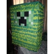 Piñatas Minecrafts - Crepper