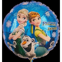 Globo Metalizado Frozen Disney Souvenir Deco 18 Pulgadas
