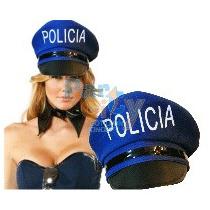 Combo Sombreros Gorros Policía Surtidos Cotillón Carioca