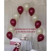 Arco De Helio De 11 Globos Para Mesa D Torta,candy,souvenir-