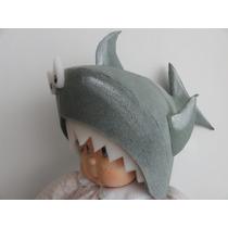Gorro De Goma Espuma Cotillón Disfraz Tiburón