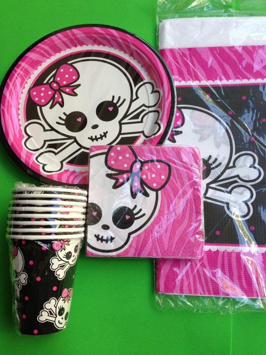 Cotillon Monster High Kit - $ 390,00 en MercadoLibre