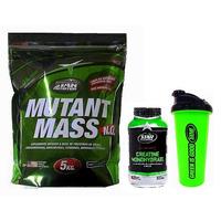 Mutant Mass 5 Kg + Creatina 300 Grs + Shaker Star Nutrition