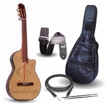 La Alpujarra 300 Kec Guitarra Concierto Electro Criolla