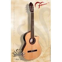 Guitarra Clásica Media Caja Fonseca 41 Con Corte En Belgrano