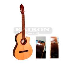 Guitarra Criolla Fonseca 40kec Con Eq Artec - Con Detalle -