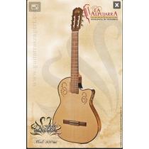 Guitarra Criolla Clasica La Alpujarra Mod 300 Kec-tipo Godín