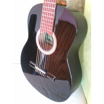 Guitarra Criolla Breyer Modelo 8 Con Funda Color: Negra