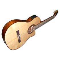 Guitarra Criolla Fonseca 40kec Ecualizador + Funda