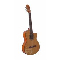 Guitarra Clásica Criolla Parquer Gcc160 Con Corte C Nylon