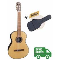La Alpujarra 70 Ec - Guitarra Clásica Criolla C/ Eq Y Funda