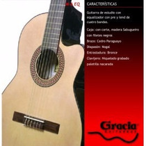 Guitarra Gracia M6 Eq En Ituzaingo