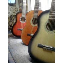 Guitarra Clasica Criolla Muy Comoda ,c/afinador Digital Crom