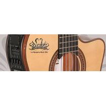 Alpujarra 85 Kec Guitarra Electro Criolla Diapason Ebano