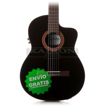 Guitarra Clasicacriolla Cordoba C5 Ce Black Ec Fishman