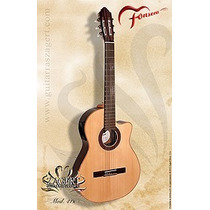 Fonseca 41k Guitarra De Estudio C/ Corte, Ecualizador Daiam