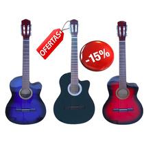 Guitarra Criolla Acustica Electroacustica C/ Corte Y Mic