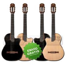 Guitarra Criolla Clasica La Apujarra Alpumidi Eq Midi