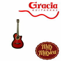 Gracia Wilde Luxe Eq Guitarra Electro Acustica Natural