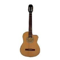 Guitarra Clásica Criolla Parquer Gcc100lb Con Corte C Nylon