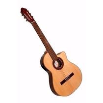 Guitarra Con Corte Y Eq Fonseca 40kec Audiomasmusica