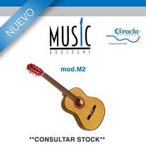 Guitarra De Iniciacion Tamaño Estandar Natural - M2