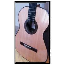 Guitarra De Concierto La Alpujarra M85 Con Funda Acolchada