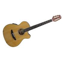 Guitarra Elecrocriolla Parquer Afinador Ecualizador La Roca