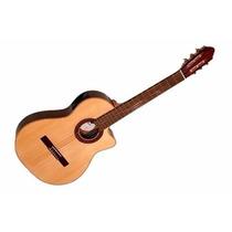 Guitarra Fonseca Electrocriolla Mod. 41kec Con Eq 1/2 Caja