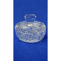 Caramelera Antigua De Cristal Tallada Esfumado N29