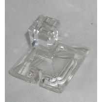 M137 Antigua Tapa Tapon De Cristal Cuadrado Para Dulcera
