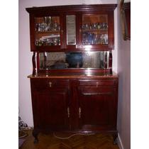 Mueble Antiguo Cristalero