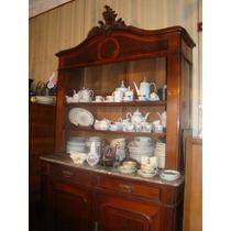 Mueble Renacimiento Italiano Vajillero Precioso Marmol