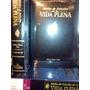 Biblia De Estudio Pentecostal Vida Plena -de Lujo En Cuero