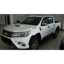 Moldura De Portón Trasero Para Toyota Hilux 2016