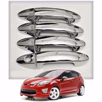 Cubre Manijas Cromadas Ford Fiesta Kinetic Kd / Ecosport Kd