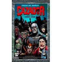 Juego Cartas Naipes Cazador Comic Universo Retro Lucas