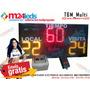 Temporizador Reloj Tanteador Deportivo Inalambrico M24leds