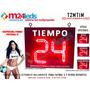 Temporizador Timer Reloj Led P/ Canchas De Futbol 5 Y +