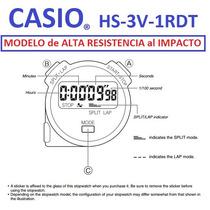 Cronometro Casio Stopwatch Hs3v Alta Resist Esmartargentina
